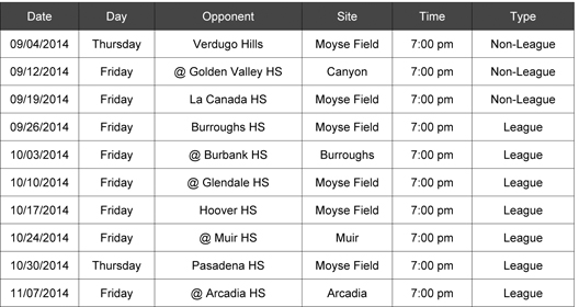 Microsoft Word - SPORTS football schedule.docx