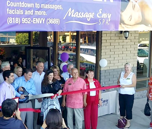 "Massage Envy Spa La Cañada owners Joey and Michelle Ball held a grand opening for their facility on July 2. Massage Envy boasts a commitment to a ""stress-free experience, every time. This includes friendly staff, professional massage therapists and a calm, inviting environment."" The La Cañada location is at 659 Foothill Blvd."