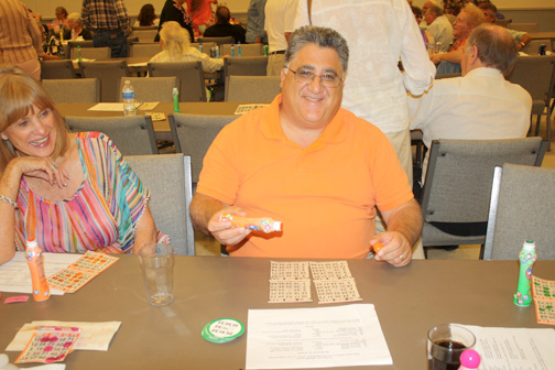 File photo Anthony Portantino, shown at an earlier veterans bingo event, was poised to make his mark. This year's veterans bingo event is Friday at Healy Hall.