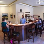 Each winery has a tasting room nearby and a night in their suite gets you a free tasting flight at the tasting room. Here is the Blair tasting room in downtown Carmel-by-the-Sea.