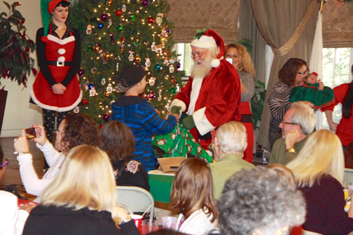Santa Stops by Annual Breakfast