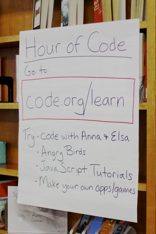 "Code.org offered free self-guided tutorials for the ""Hour of Code."""