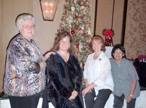 Sally Benson, Karen Bynum, Marianne Jennings and Margaret Dickson.