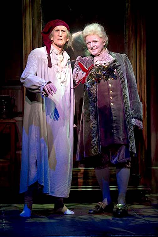 Hal Landon Jr. and Richard Doyle in the 2013 production of A Chr