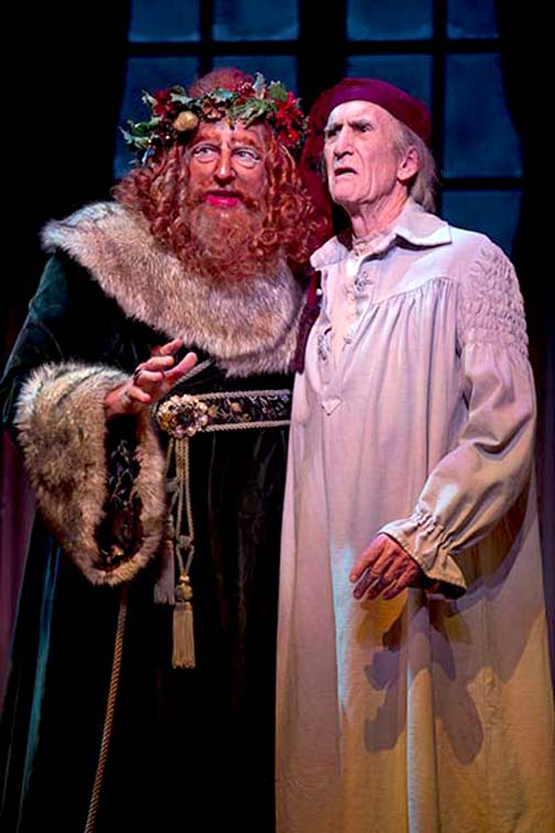 Timothy Landfield and Hal Landon Jr. in the 2013 production of A