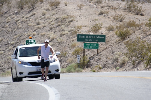 File Photo Agencies from around the world come to the unforgiving desert to run the 120 mile relay race.