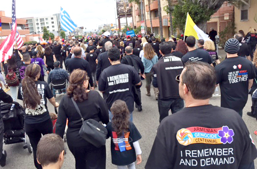 Memories, Determination Drive Genocide March