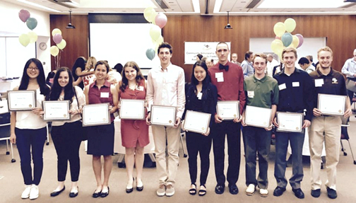 2015 CSF Scholarship Recipients WEB