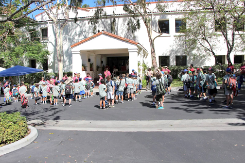 Around 100 Cub Scouts attended the Mad Math Magic Club Day Camp held at Latter-day Saints in Burbank.