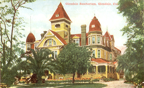 Photo provided by GAMC GAMC 110 years ago, then known as the Glendale Sanitarium, converted from a 75 room Victorian-style hotel.