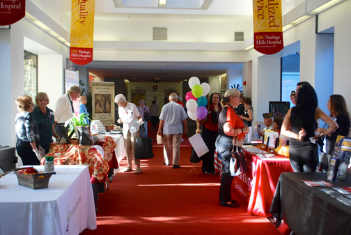 The halls and community rooms of USC Verdugo Hills Hospital will be filled with local businesses eager to share their information at the Foothills Community Business Expo on Sept. 9. The Expo is free to attend.