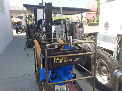 "Once again ""NCIS"" films a new episode in Faye's."