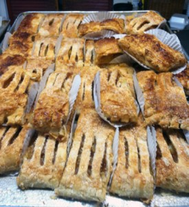 Get ready for apple strudel from Montrose Home Bakery at Oktoberfest!