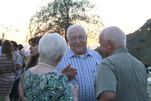 Ken Grayson with Karen and Steve Pierce