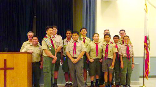 Troop 317 COH 10-16-15