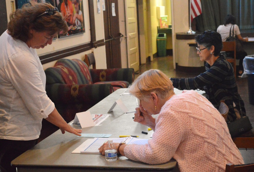 222 voters showed up to vote this weekend in the CV Town Council elections.