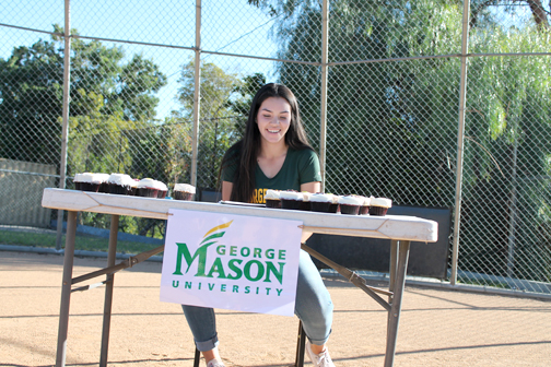 Photo courtesy of the Wells Family CV High School senior Sydnee Wells signed her national letter of intent last week with George Mason University in softball.