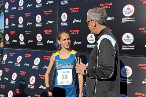 elite runners compete at foot locker nationals