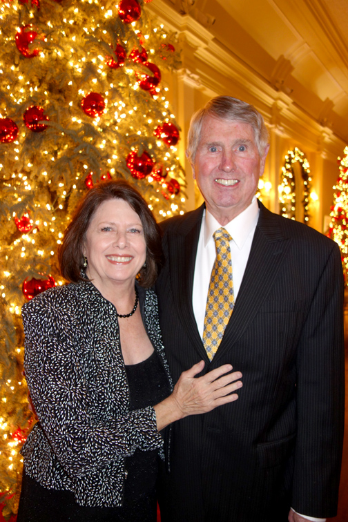 Cathy and Bob Keen took part in the holiday festivities.