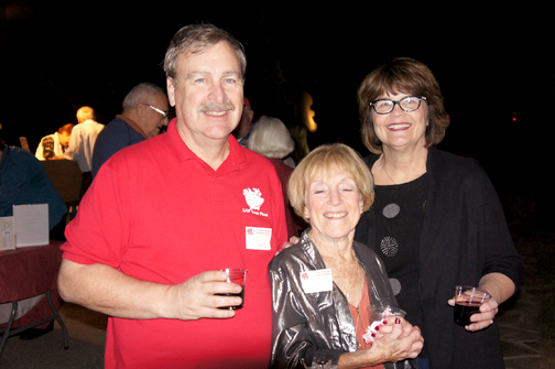 Mike O'Connor, Pat Hutchins, Melinda O'Connor