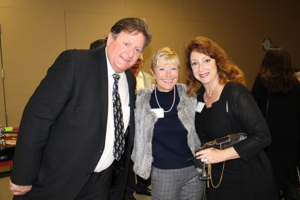 Dr. William Foran, Sue Wilder and Tina Marie Ito