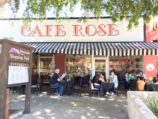 Photo by Mary O'KEEFE After months of preparation, Café Rose, located on the former site of Montrose Bakery, is now open for business.