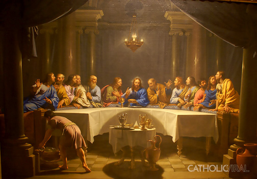 The Last Supper by Philippe de Champaigne, 1648