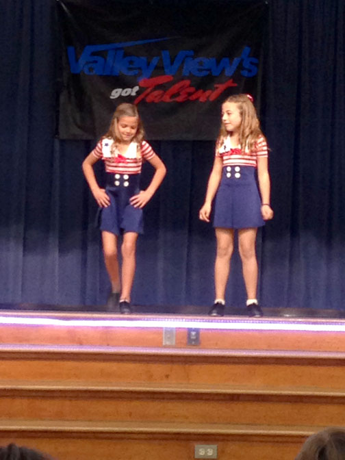 Tap dancing twosome!