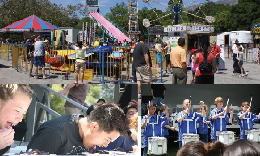 File photo From pie eating contest to carnival rides and local bands, the Country Fair highlights all that is hometown.