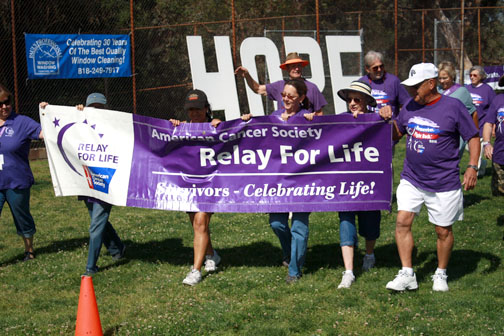 File photo Expected rain will not dampen the spirit of more than one hundred supporters coming out for this year's Relay.
