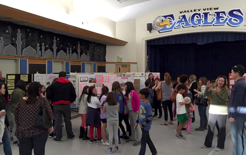 Valley View families enjoy an educational evening