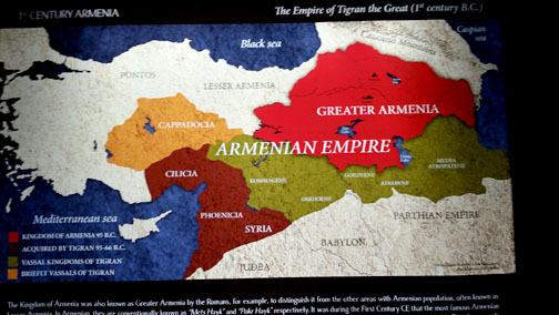 extra art Map Armenia
