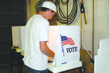File photo Glendale voters casting their ballots on June 7 will decide on the future of the Utility Users Tax.