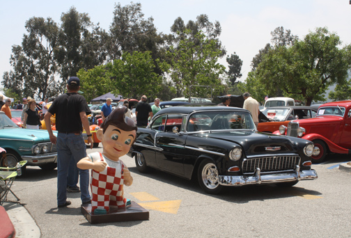 Forty cars were on display as part of the Customer Appreciation Day festivities.