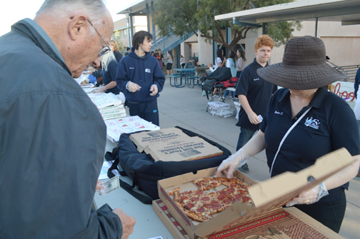 Pizza pickers tasted the many offerings, then decided who were the best in a variety of categories.