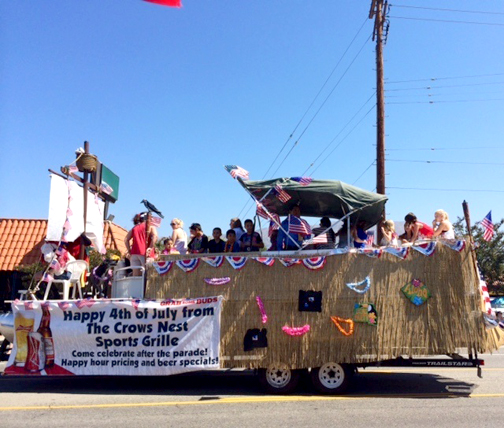 Crows Nest float.