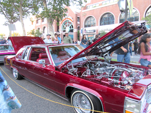 All types of classic cars were found along Brand Boulevard during the 23rd Annual Cruise Night held on Saturday in Glendale.