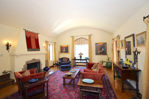 Bowles House Living Room