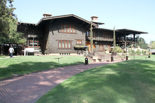 Photos by Charly SHELTON A celebration of the 50th anniversary of the Gamble House, located at #4 Westmoreland Place in Pasadena, is planned for Sunday.