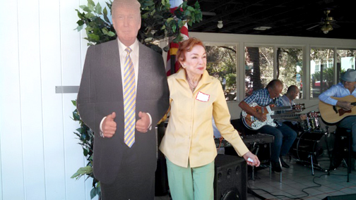 no-5h-the-love-boat-creator-jeraldine-saunders-with-donald-trump-cutout