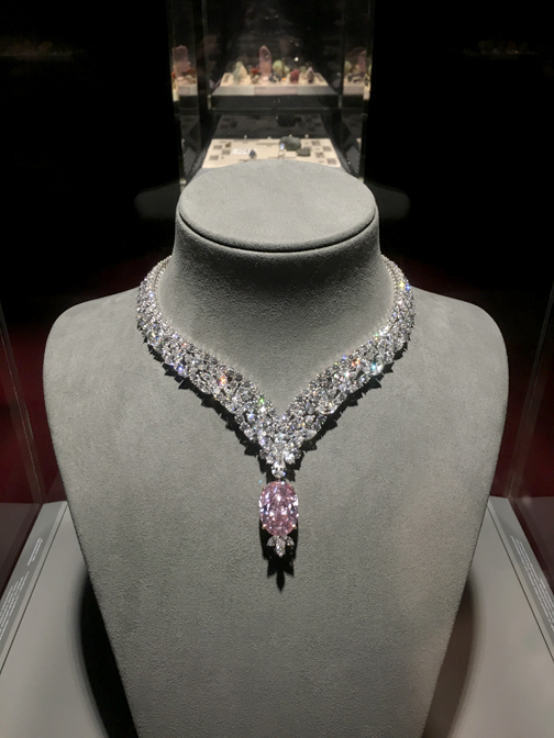 Photos by Charly SHELTON The Juliet Pink Diamond is among the rarest gems in the world.