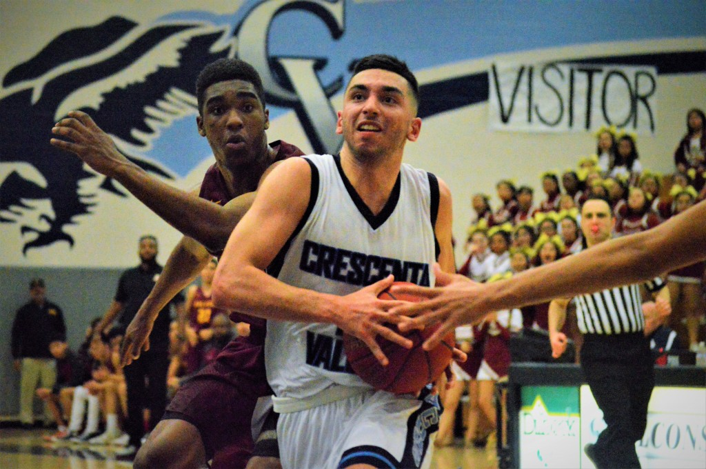 Koko Kechichian made the game-winning layup Thursday night in the regular season finale vs. Arcadia