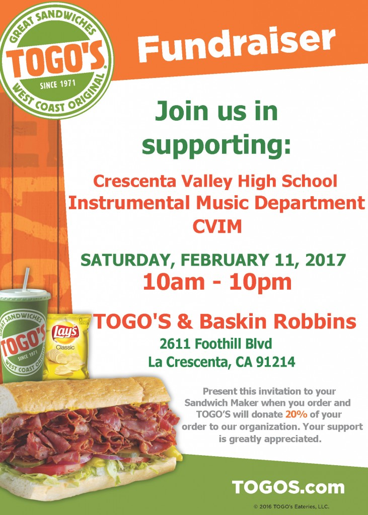 FOR WEB Feb 2017 CVIM Togos Fundraiser Flyer