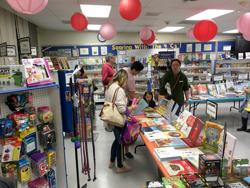 Miss Nelson's Book Fair at Valley View.