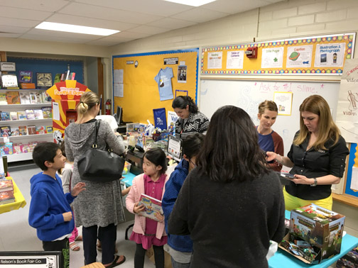 Miss Nelson's Book fair is a big success at Valley View