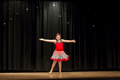 lincoln students shine in the annual talent show