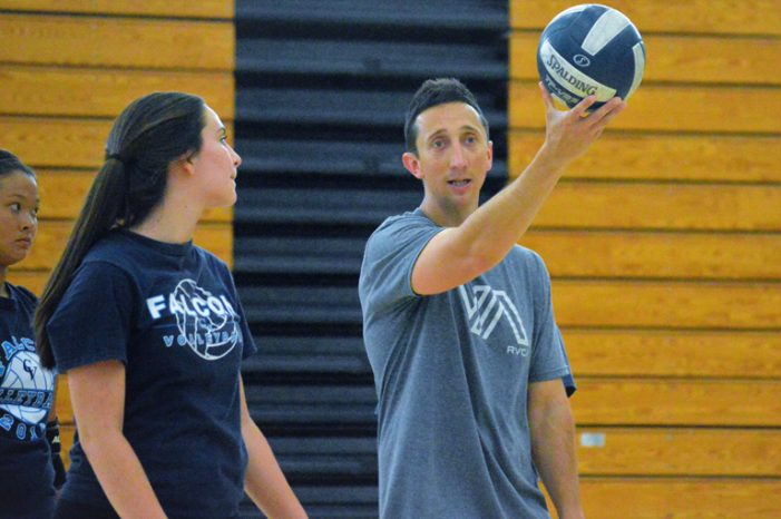 New Faces from Different Places Lead CV Girls' Volleyball