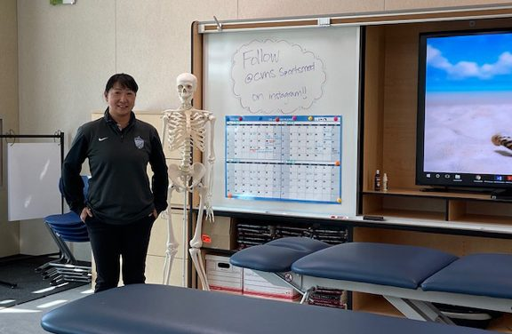A New Sports Medicine Building for CVHS