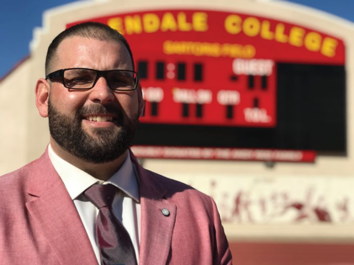 Former Falcon Finds a Home at Glendale Community College