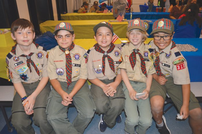 Troop 310 Arrow of Light Bridging Ceremony